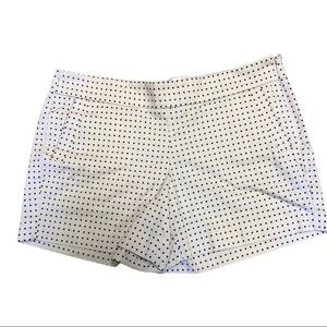 J. Crew Factory White with Black Polka Dots - 12